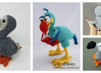 Amigurumi Dodo Free Crochet Pattern and Paid