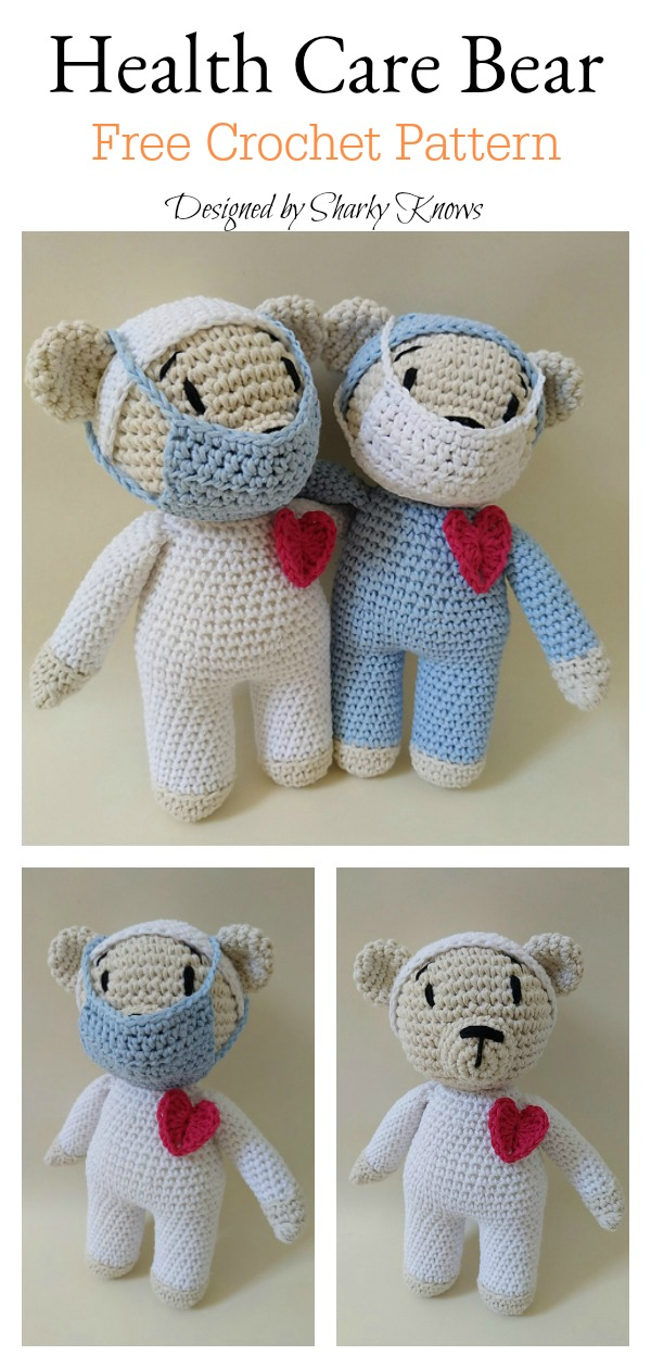 Wedding Amigurumi Pattern: Kissing Bears | Stuff The Body | 1260x600