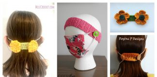Face Mask Ear Savers Free Crochet Pattern