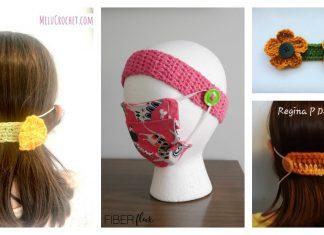 Face Mask Ear Savers Free Crochet Pattern
