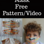 Face Mask Free Crochet Pattern and Video Tutorial
