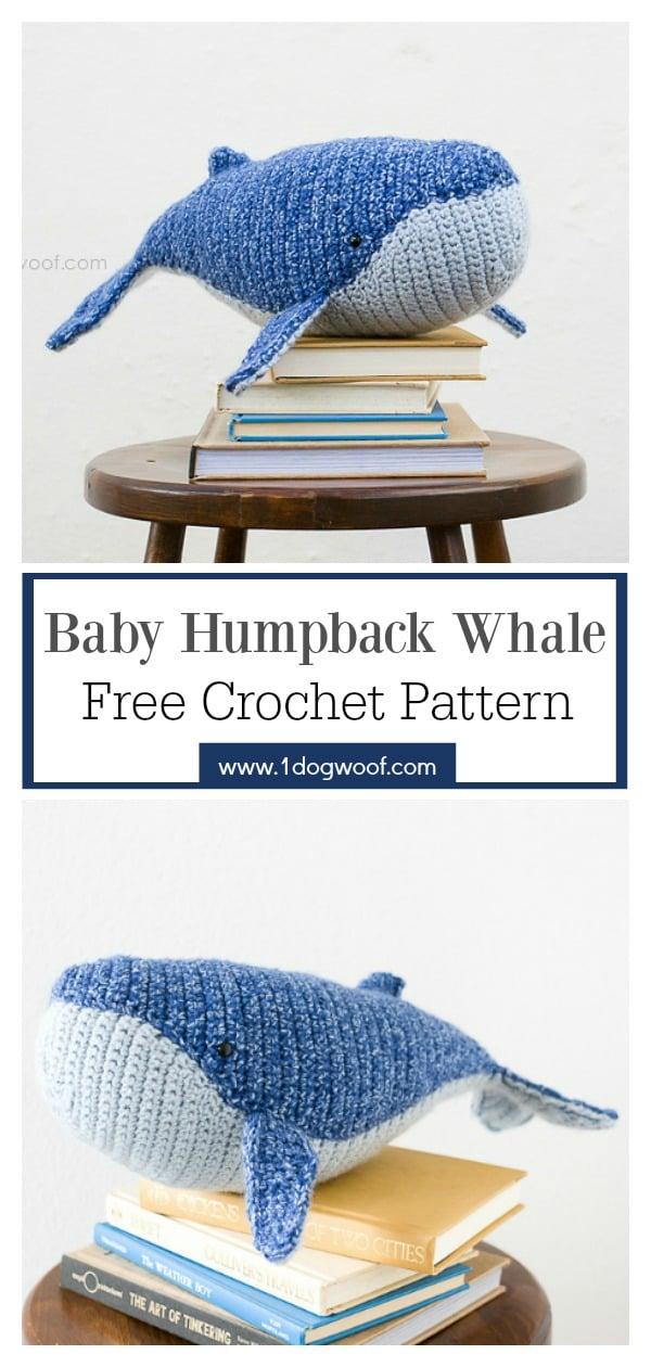 FREE AMIGURUMI PATTERN: Blue Whale | | 1260x600