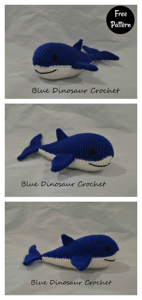 Crochet Amigurumi Shark Keychain in 2020 (With images) | Crochet ... | 1260x600