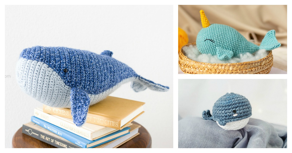 Moby Dick the Whale Crochet Pattern Whale Amigurumi Pattern | Etsy | 630x1200