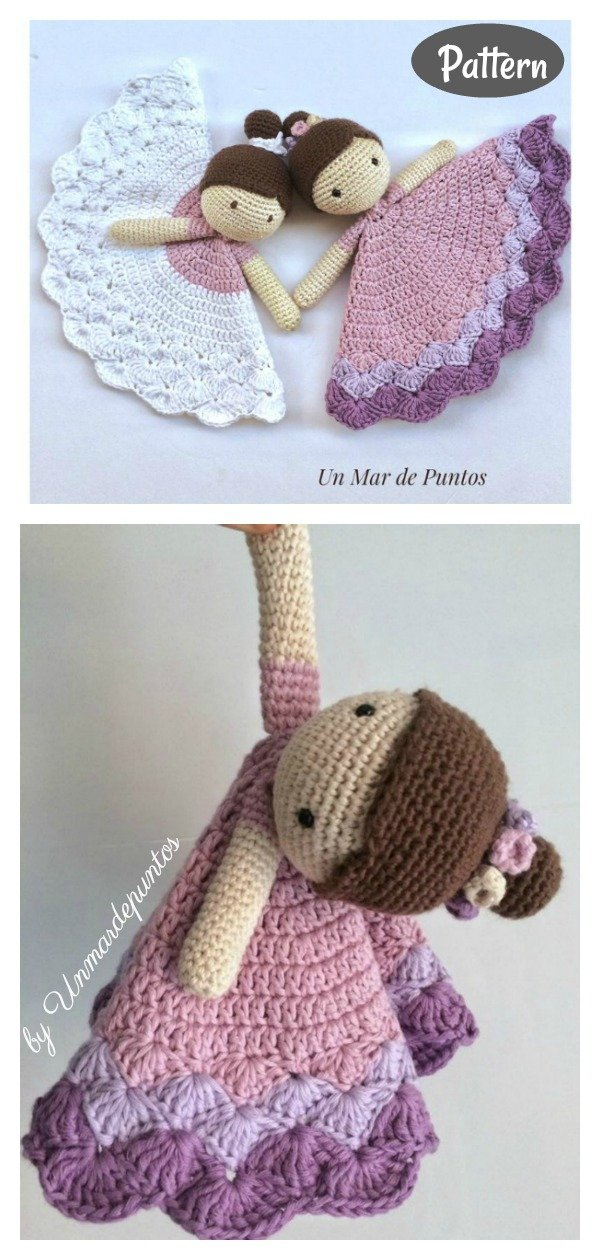 Baby Lovey Toy Crochet Pattern