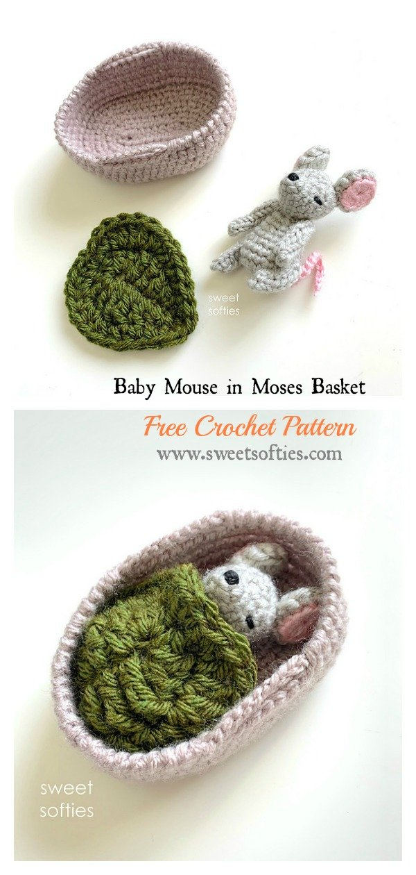Fun Mouse Crocheted Bookmark [FREE Crochet Pattern] | 1260x600