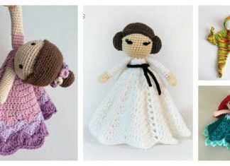 Doll Lovey Free Crochet Pattern and Paid