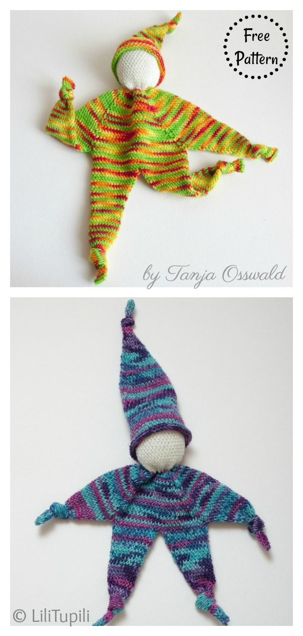 Knubbelchen Doll Lovey Free Crochet Pattern