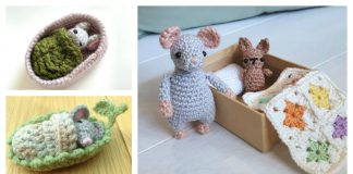 Mouse Playset Crochet Patterns