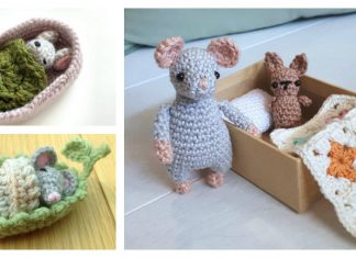 Amigurumi Christmas Mouse Crochet Free Patterns - Crochet & Knitting | 235x324