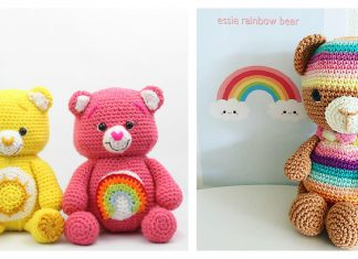 Rainbow Bear Free Crochet Pattern