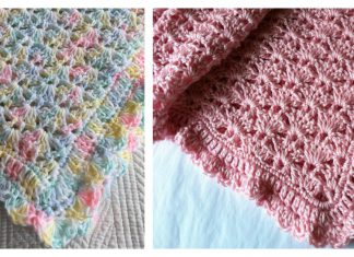 Soft and Snuggly Baby Blanket Free Crochet Pattern