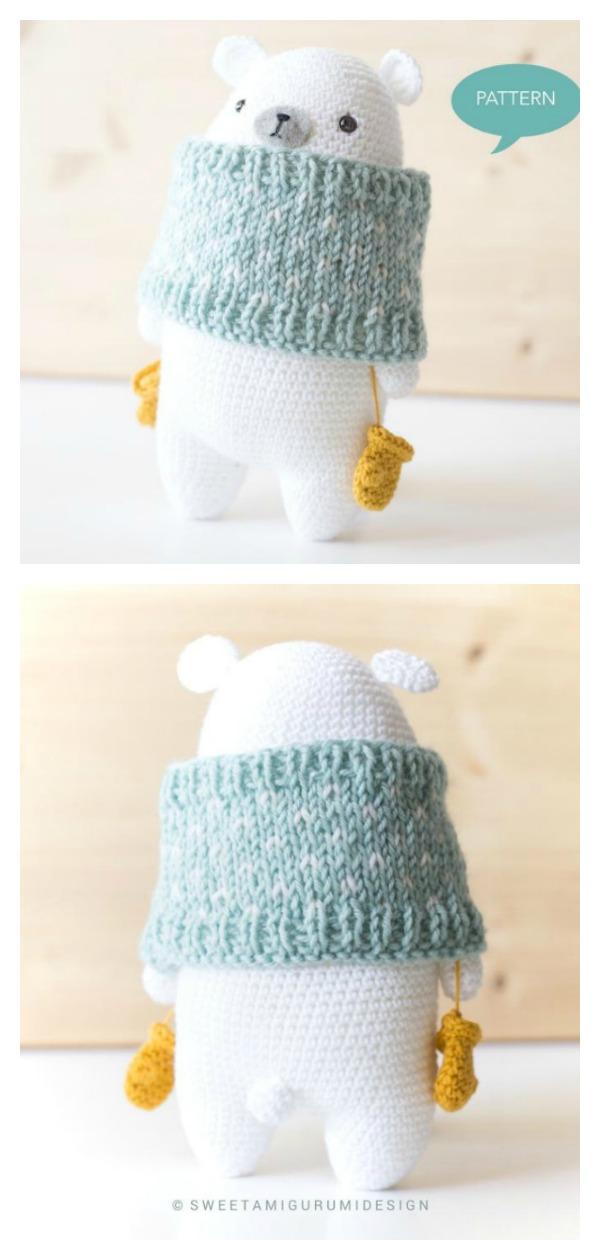 Teddy Bear Sleeper - Amigurumi - Free Crochet Pattern | 1260x600