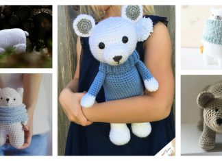 Amigurumi Polar Bear Toy Free Crochet Pattern and Paid