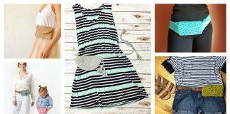 Belt Bag Free Crochet Pattern