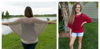 Flowy Mesh Top Crochet Pattern