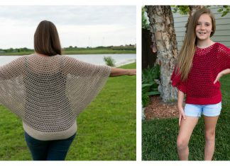 Flowy Mesh Top Crochet Pattern