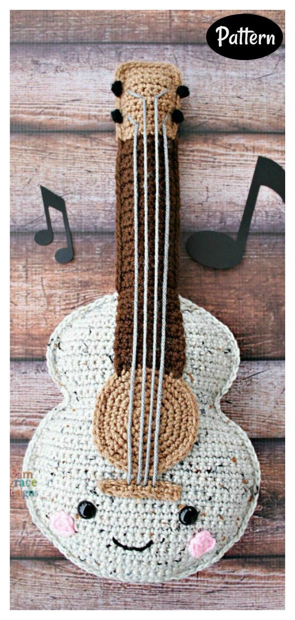 Guitar Amigurumi Crochet Pattern
