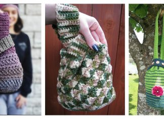 Japanese Knot Bag Free Crochet Pattern and Paid