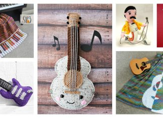 Music Free Crochet Pattern and Paid