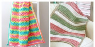 Quick and Easy Blanket Free Crochet Pattern