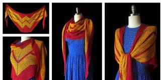 Wonder Woman Wrap Free Crochet Pattern