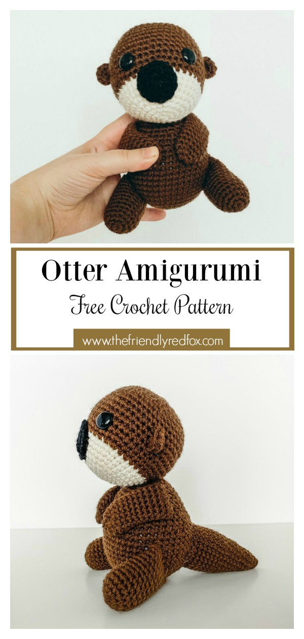Amigurumi Sea Otter Free Crochet Pattern