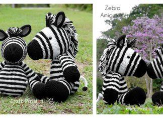 Amigurumi Zebra Free Crochet Pattern and Paid