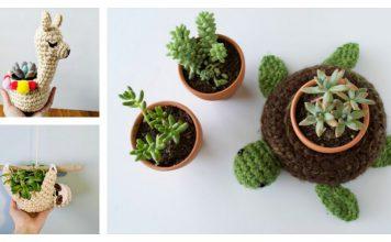 Cute Planter Crochet Patterns