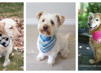 Dog Bandana Free Crochet Pattern