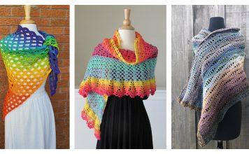 Gorgeous Lace Shawl Free Crochet Pattern