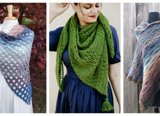 6 Gorgeous Lace Shawl Free Crochet Pattern