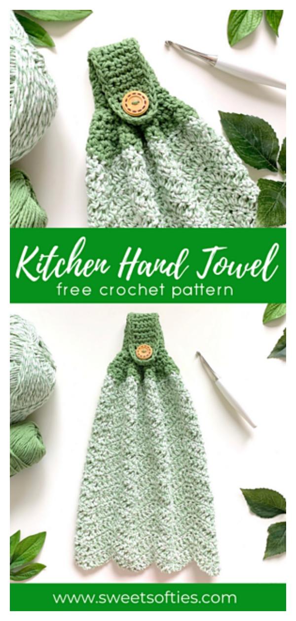 Hanging Towel Free Crochet Pattern