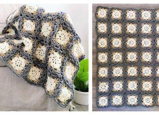 Sand Dollar Afghan Free Crochet Pattern