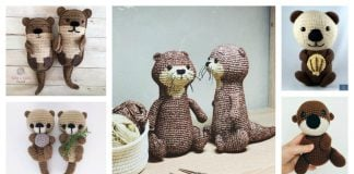 Sea Otter Free Crochet Pattern and Paid