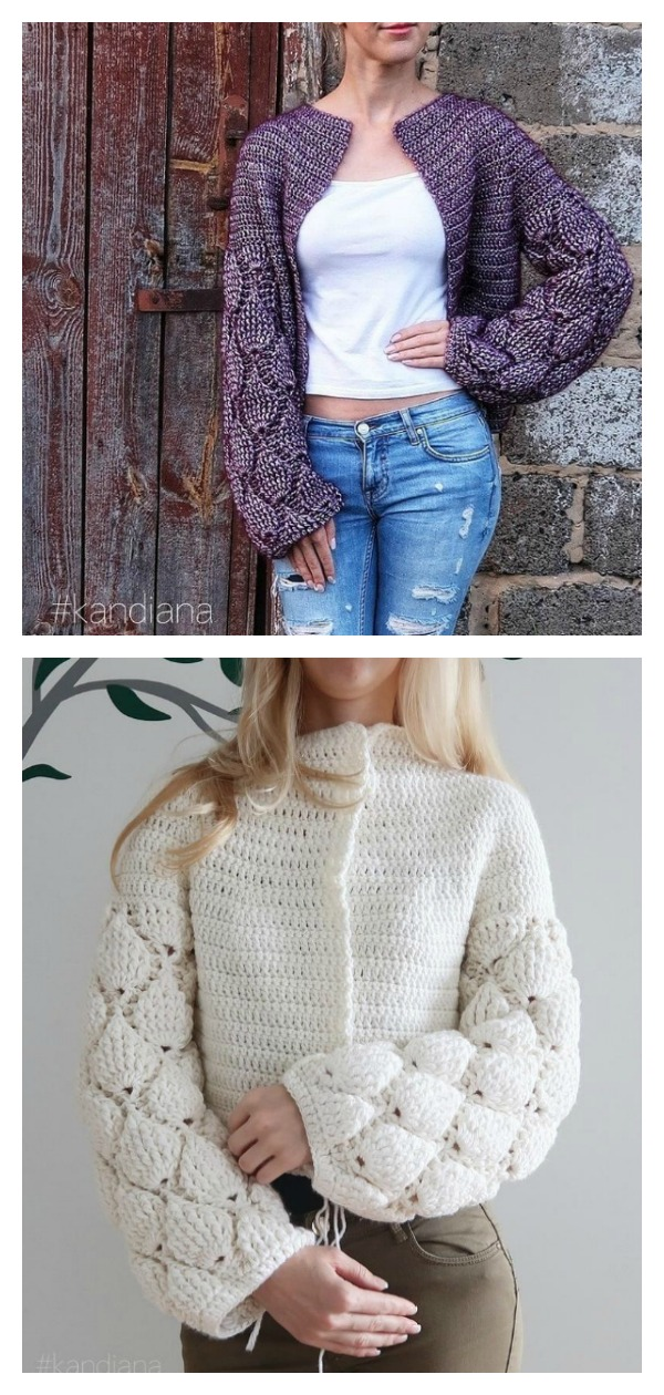 Cardigan Figs Free Crochet Pattern and Video Tutorial