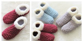 Chunky Slipper Free Crochet Pattern
