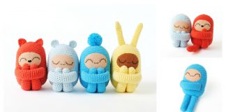 Curly Amigurumi Doll Free Crochet Pattern