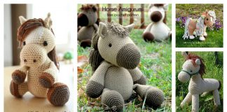 Horse Amigurumi Free Crochet Pattern and Paid
