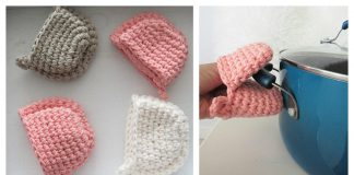 Mini Mitts Free Crochet Pattern
