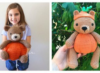 Pumpkin Bear Free Crochet Pattern