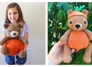 Pumpkin Bear Free Crochet Pattern