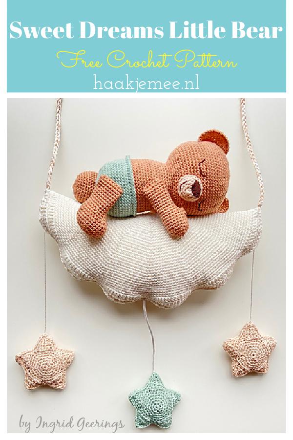 Sweet Dreams Little Bear Free Crochet Pattern
