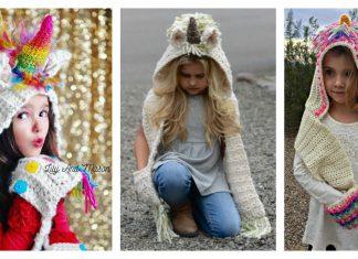 Unicorn Scarf Crochet Patterns