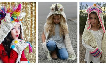 Unicorn Scarf Crochet Patterns
