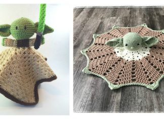 Yoda Lovey Crochet Patterns