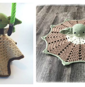 Yoda Lovey Crochet Patterns