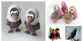 Amigurumi Crow Crochet Patterns