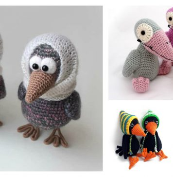 Amigurumi Crow Crochet Patterns