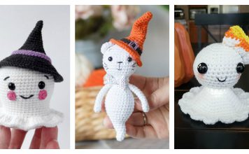 Amigurumi Halloween Ghost Crochet Patterns